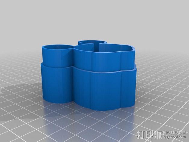 米老鼠戒指盒 3D模型  图8