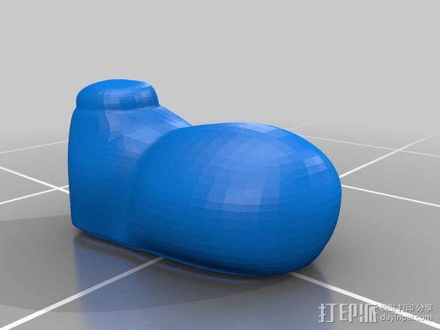 米老鼠戒指盒 3D模型  图12