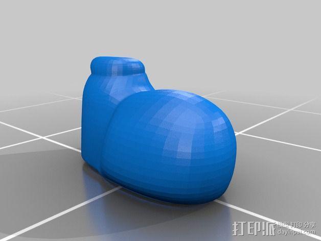 米老鼠戒指盒 3D模型  图11