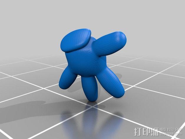 米老鼠戒指盒 3D模型  图14