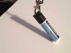 唇膏 钥匙坠 3D模型