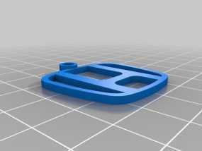 本田钥匙扣 3D模型
