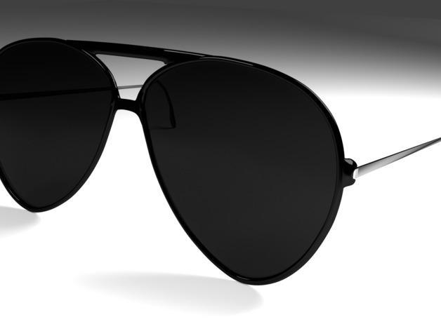 太阳镜 3D模型  图1