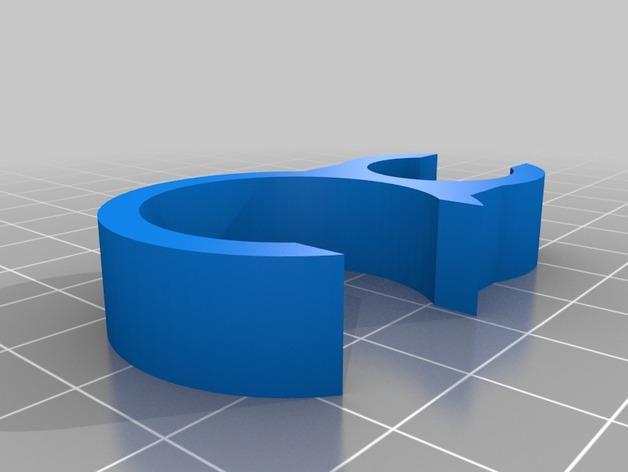夹箍钩  3D模型  图2