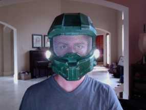 halo 4头盔 3D模型
