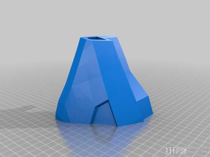 halo 4头盔 3D模型  图4