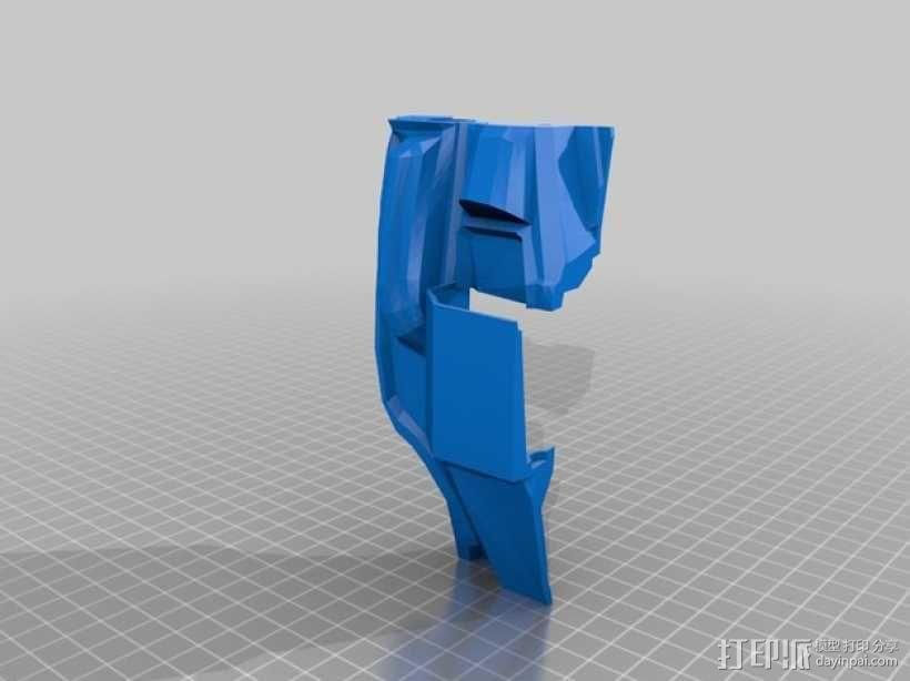 halo 4头盔 3D模型  图8