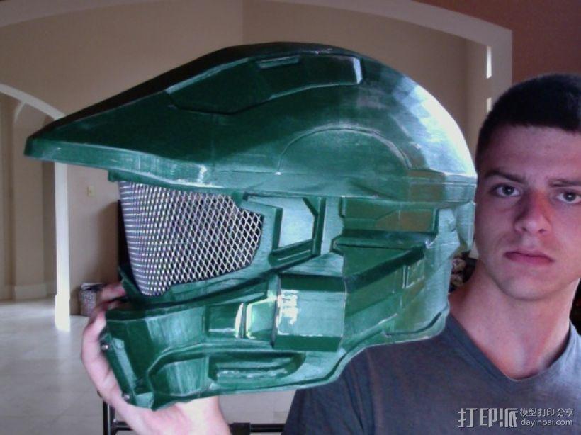 halo 4头盔 3D模型  图10