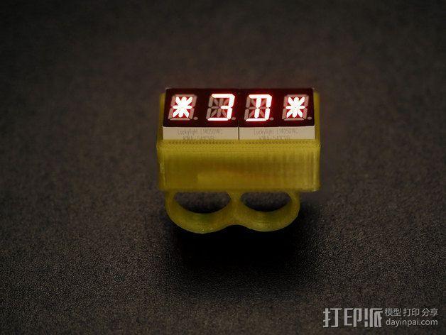 LED指节环 3D模型  图3