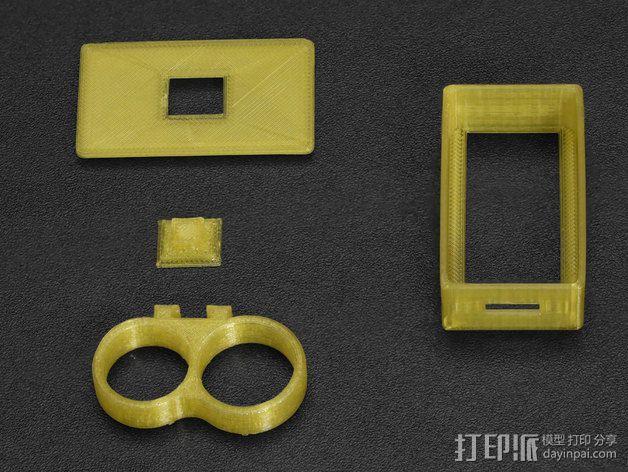 LED指节环 3D模型  图4