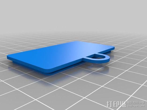 LED指节环 3D模型  图8