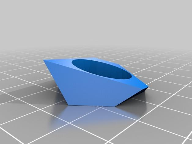 立方体 戒指 3D模型  图3
