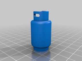 煤气罐挂件 3D模型