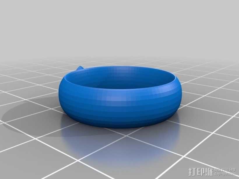 CTR戒指 3D模型  图1
