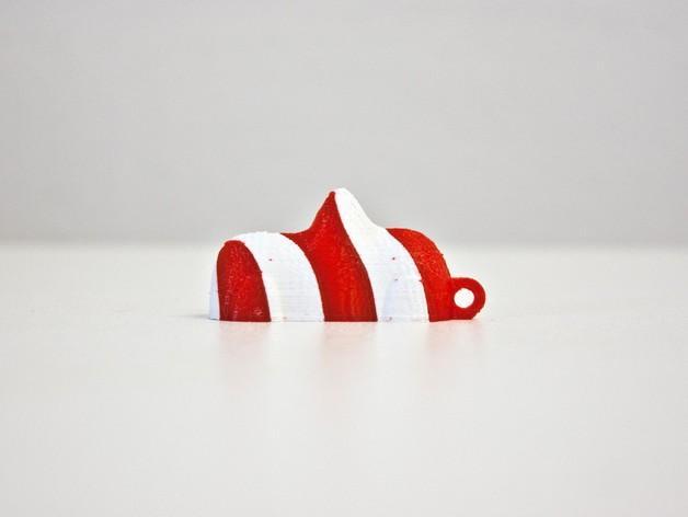 瑞士糖 钥匙扣 3D模型  图5