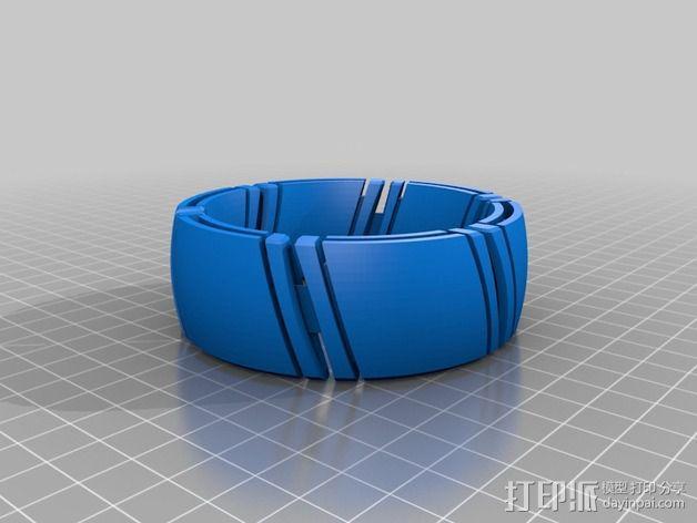 kimekomi可伸缩手镯 3D模型  图6