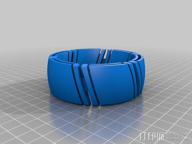 kimekomi可伸缩手镯 3D模型  图7