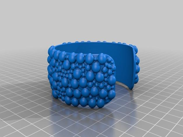 泡泡手镯 3D模型  图2