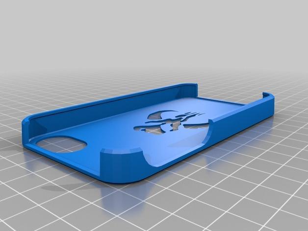 Mandalorian曼达洛iphone手机保护壳 3D模型  图1