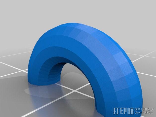 游戏王 钥匙项链坠 3D模型  图2