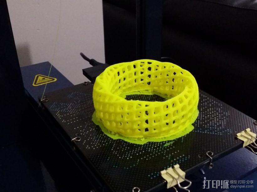 参数化网格手环 3D模型  图4