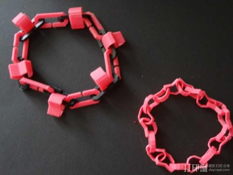 心形手链 3D模型  图1