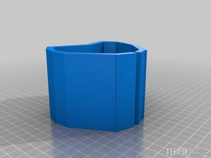 心形手链 3D模型  图3