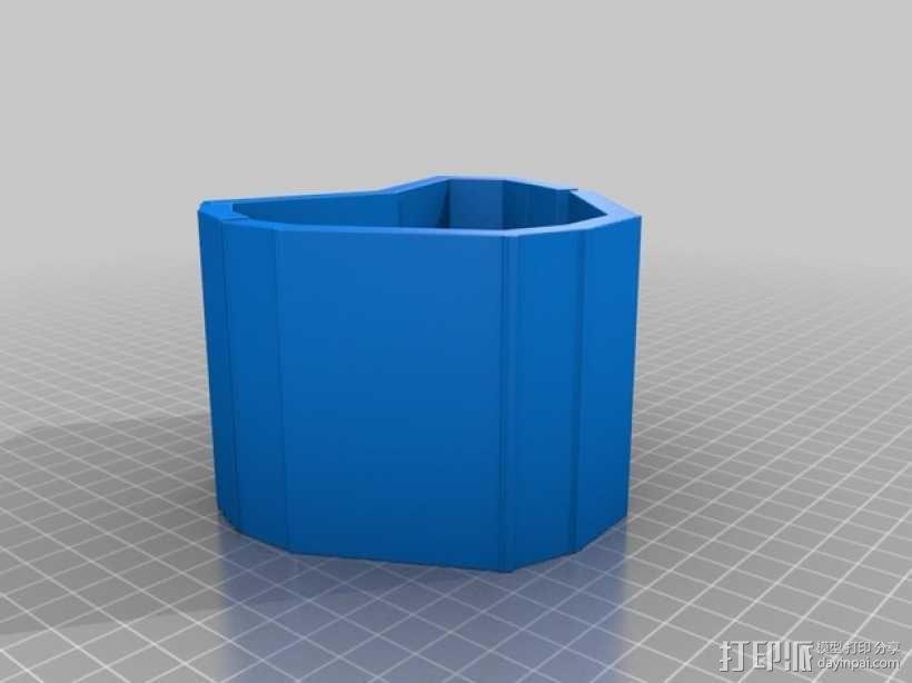 心形手链 3D模型  图4
