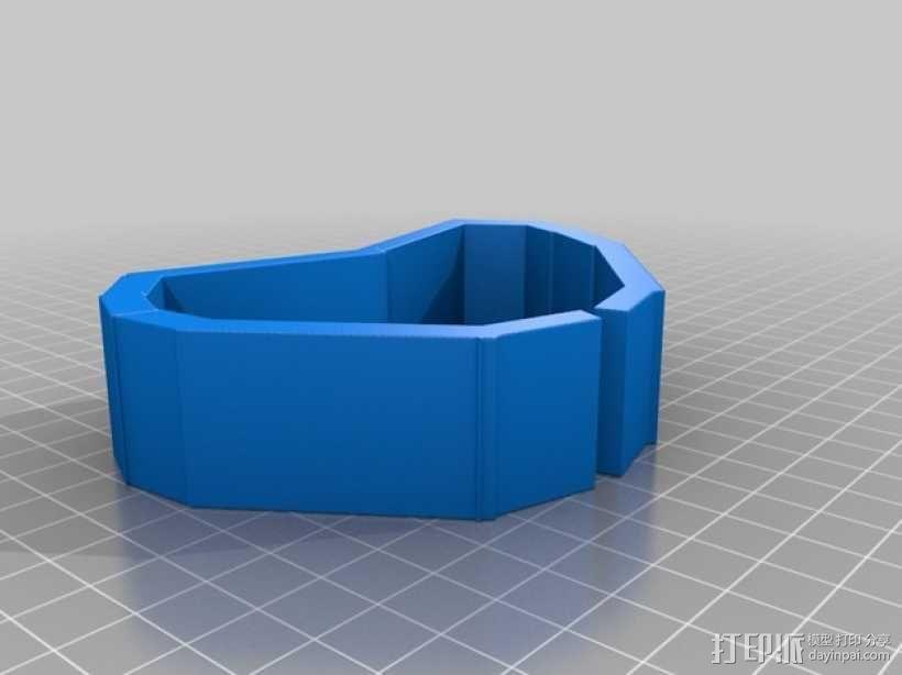 心形手链 3D模型  图6