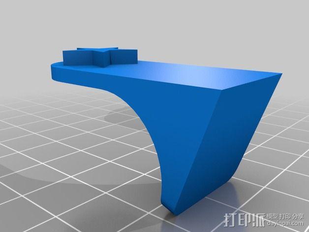 波多黎各国旗 摆件 3D模型  图4