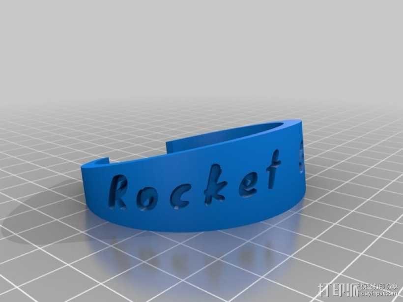 rocket girls火箭女孩手镯 3D模型  图1
