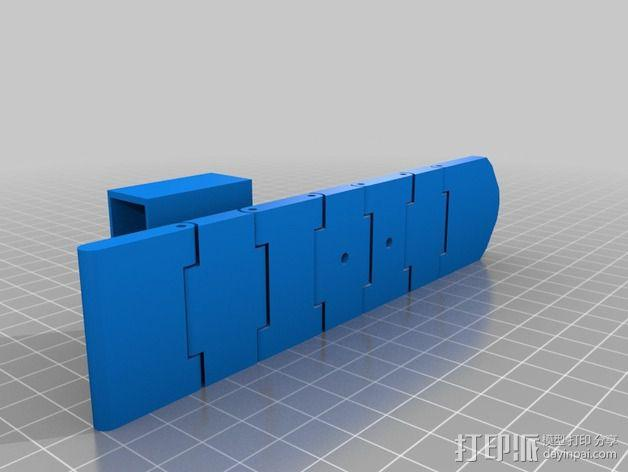 皮带 3D模型  图1
