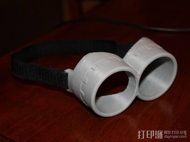 小黄人眼镜 3D模型  图1