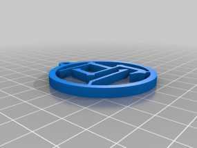 马字挂件 3D模型