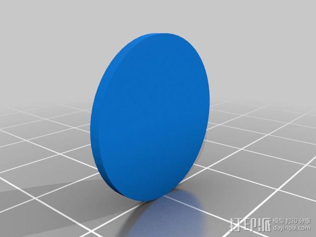 红灯军团 戒指 3D模型  图3