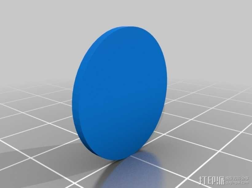 绿灯军团 戒指 3D模型  图2