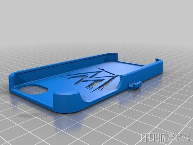 WWE手机壳 3D模型  图1