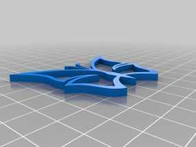 蝴蝶挂件 3D模型