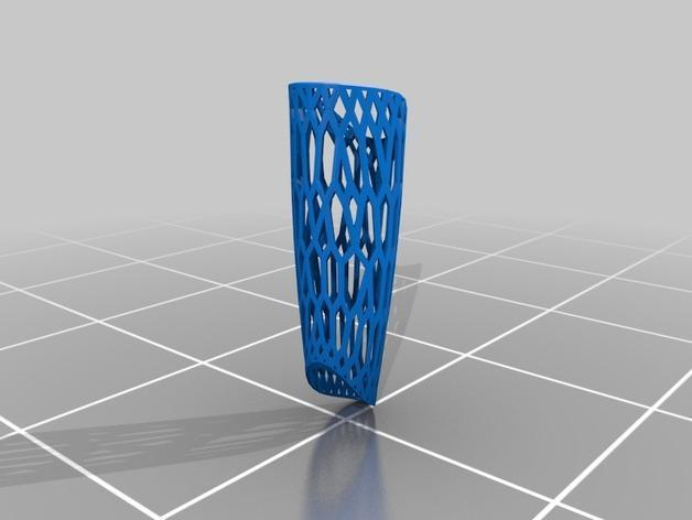 镂空高跟靴子 3D模型  图3