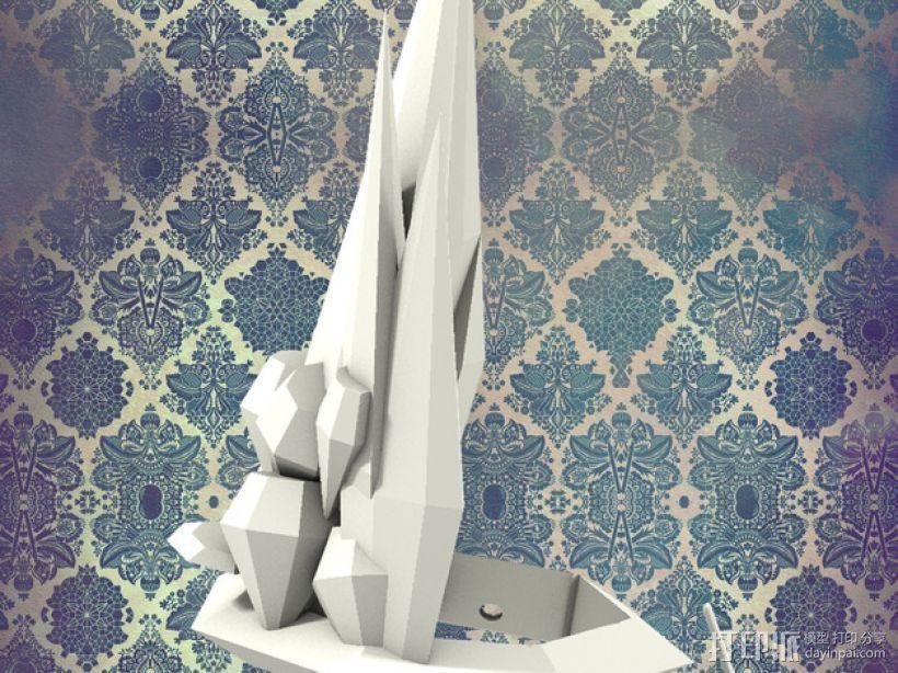 钻石皇冠 3D模型  图1