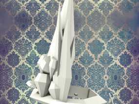 钻石皇冠 3D模型