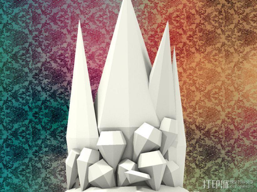 钻石皇冠 3D模型  图3