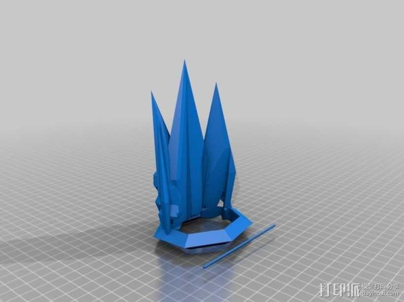 钻石皇冠 3D模型  图2