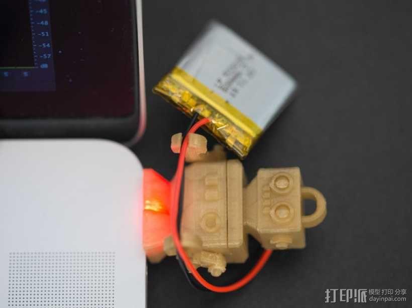 机器人读卡器 3D模型  图2