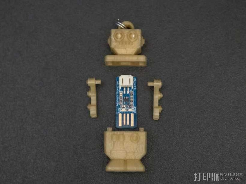 机器人读卡器 3D模型  图3