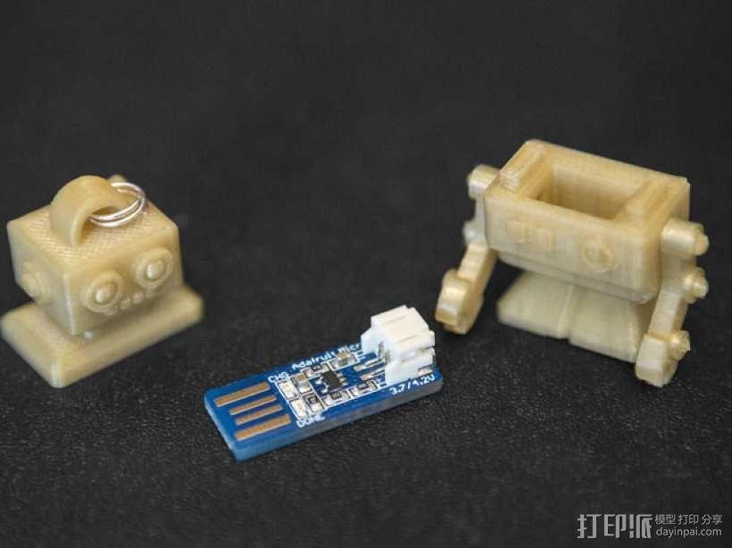 机器人读卡器 3D模型  图4