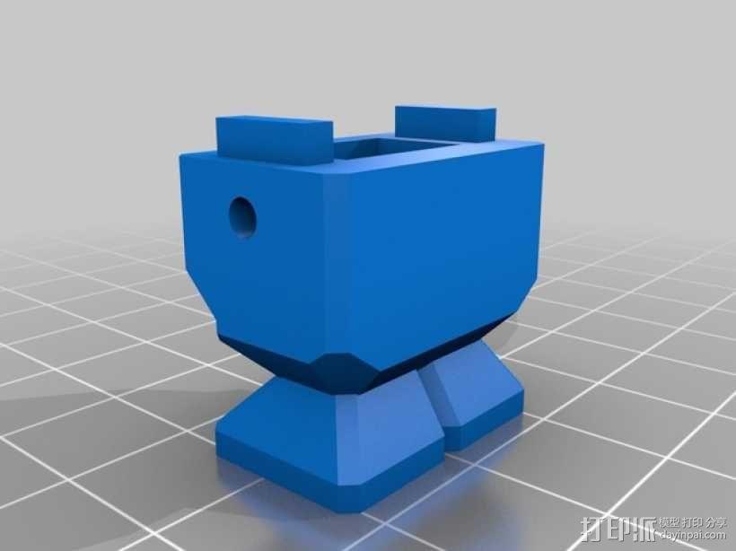 机器人读卡器 3D模型  图5