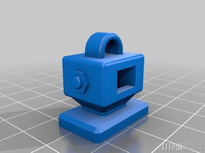 机器人读卡器 3D模型  图6