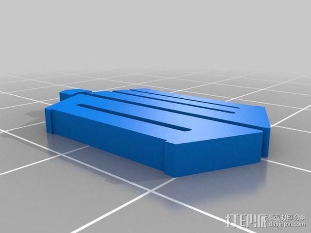 神秘博士 挂件 3D模型  图1