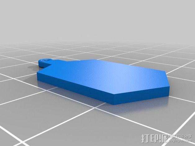 神秘博士 挂件 3D模型  图2